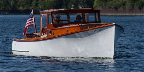 Downeast Boat Design by A East Style Lobster Boat Owned By Jan Rozendaal