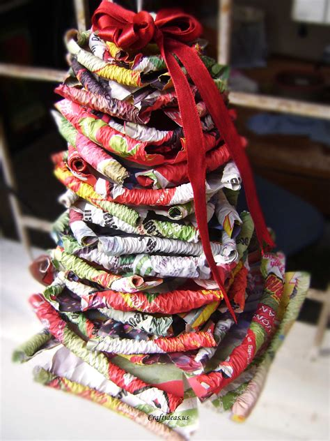 christmas crafts paper christmas tree craft ideas