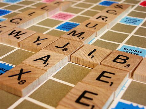 Scrabble Tile Point Distribution by Exploration Of Letter Make Up Of Words Trinker S