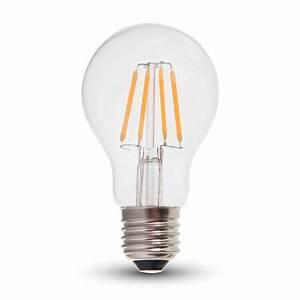 E27 Led Leuchtmittel : led filament leuchtmittel e27 4 watt 400 lumen wohnlicht ~ Watch28wear.com Haus und Dekorationen