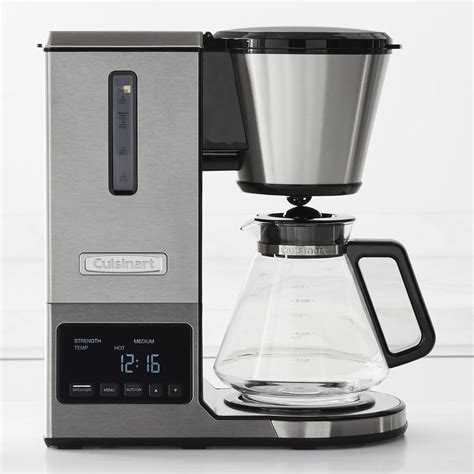 You'll be surprised to see. Cuisinart PurePrecision Pour-Over Glass Coffee Maker   Williams Sonoma CA