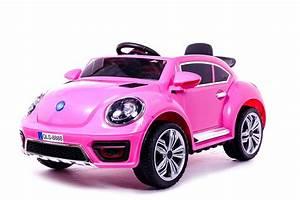 Voiture Electrique Enfant : 12v beetle rose voiture electrique pour enfants ~ Nature-et-papiers.com Idées de Décoration
