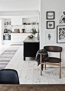 idee deco salon le salon en style scandinave With deco salon blanc et bois