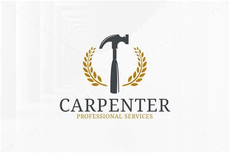 carpentry logo template