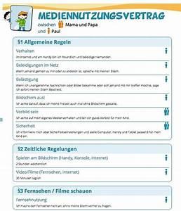 Kann Man Von Einem Vertrag Zurücktreten : mediennutzungsvertrag familien regeln f r smartphone und tv ~ Orissabook.com Haus und Dekorationen