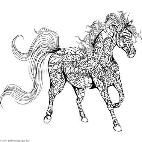 horse coloring pages getcoloringpagesorg