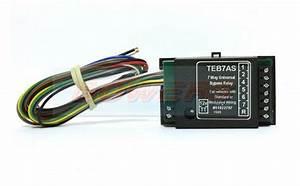 Teb7as 12v Volt 7 Way Universal Upgrade Kit Pass Bypass Relay Towbar Wiring