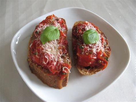 recettes de flipp bruschetta de tomates cerises