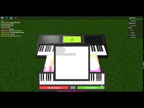 roblox piano song  healing youtube
