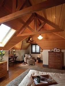 Amenagement Des Combles : am nagement des combles pour une jolie chambre sous toit ~ Melissatoandfro.com Idées de Décoration