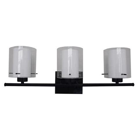 Filament Design 3light Black Bath Lightvl280553bk The