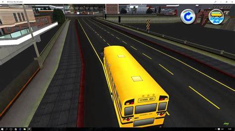 school bus simulator game windows  youtube
