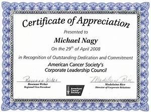 nice editable certificate of appreciation template example With certificate of thanks template