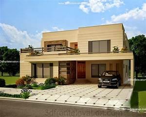 3D Front Elevation.com: Beautiful House 3D Front Elevation ...