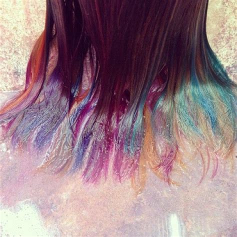 Rainbow Hair At Bleach London Bleach London Pinterest