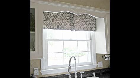 diy kitchen window curtain youtube