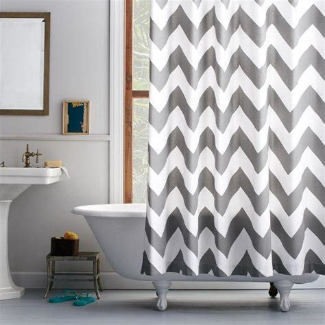 gray chevron bathroom decor window treatments gray chevron curtain