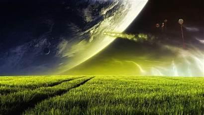 Alien Planet Wallpapers Planets Desktop Space Landscape