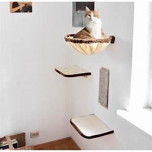 Arbre À Chat Pour Gros Chat : arbre chat griffoir mural pour chat ~ Nature-et-papiers.com Idées de Décoration