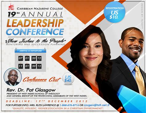 caribbean nazarene college  annual leadership conference