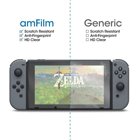 Is The Amfilm Nintendo Switch Tempered Glass Screen
