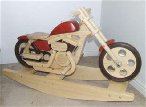 woodwork plans motorcycle rocking horse  plans