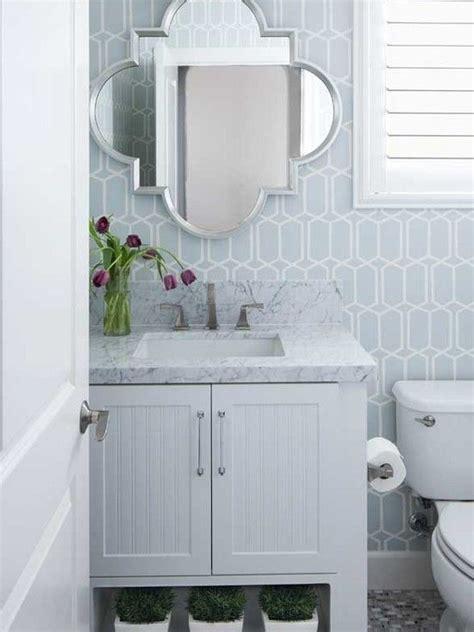 blue bathroom wallpaper gallery