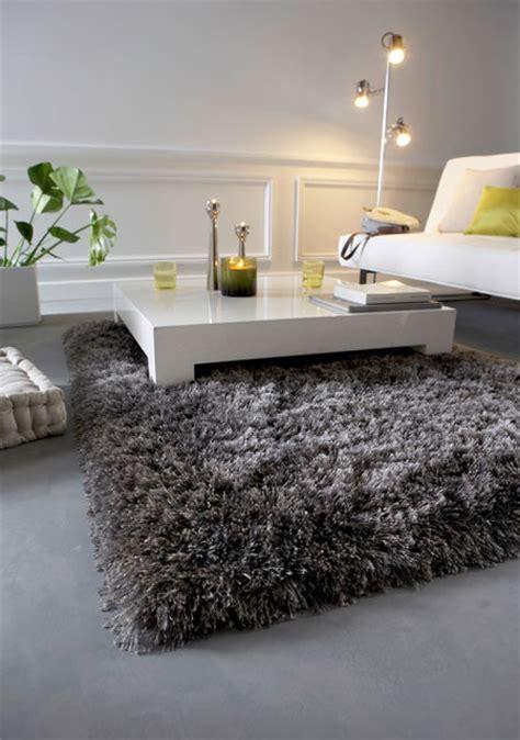 tapis shaggy gris argent photo 7 10 un magnifique tapis shaggy