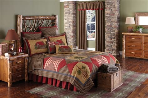 cabin quilt blackmountainquiltsnet quilted bedding