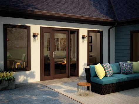 milgard tuscany french style swinging patio doors