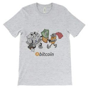 Our bitcoin knight holds a powerful sword, which should resemble the bitcoin price chart. Bitcoin Knight vs Bank Decentralize T-Shirt Colorful ...
