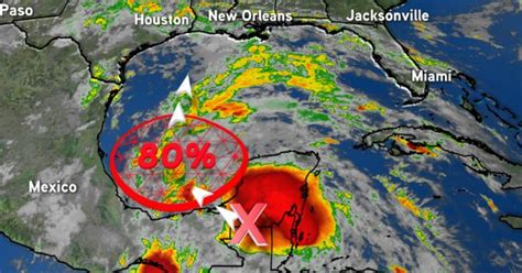Tropical Storm Cristobal likely to form in Gulf of Mexico ...
