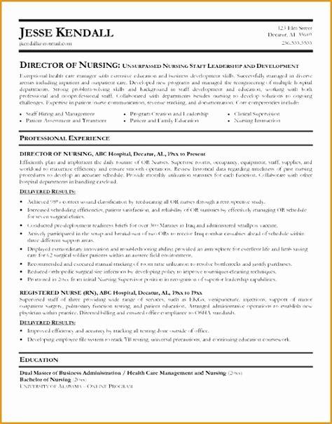 Director Of Engineering Resume Objective by 9 Sle Director Nursing Resume Free Sles Exles