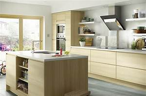 IT Marletti Horizontal Oak Effect with Integrated Handle