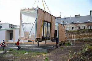 Maison Modulaire Bois : construction modulaire installation selvea ~ Melissatoandfro.com Idées de Décoration