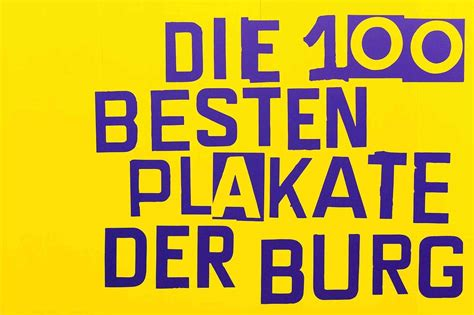 Die 100 Besten Plakate Der Burg  Page Online