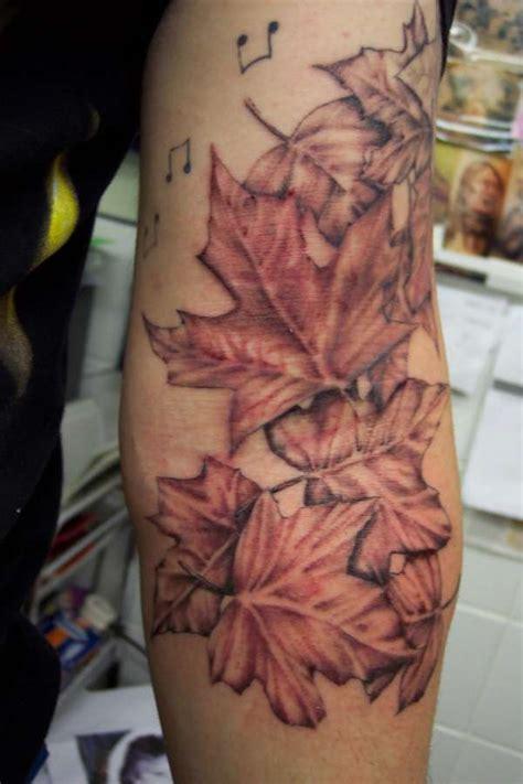 sweet maple leaves tattoo tattoomagz tattoo designs