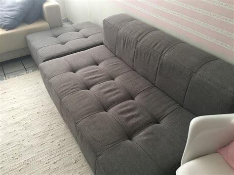 sofá tok stok sofo sofa tok stok yoko 3 lugares canto pufe vazlon brasil