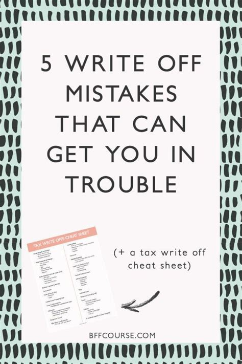 write  mistakes      trouble small