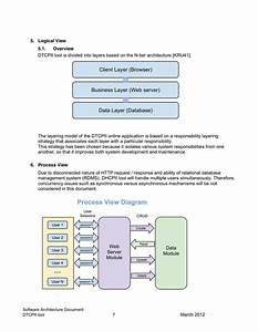 software architecture document template in word and pdf With software architecture document template