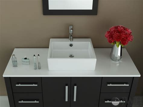 jwh living  grand crater single vessel sink vanity