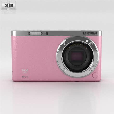 samsung nx mini smart samsung nx mini smart pink 3d model humster3d