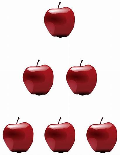 Apples Clipart Numbers Counting Count Number Apple