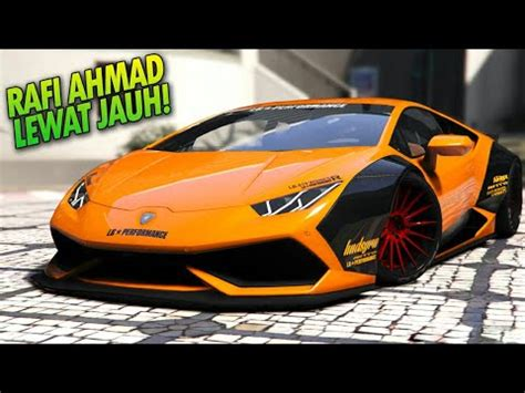 Modifikasi Lamborghini Huracan by Review Lamborghini Huracan Modifikasi Mobil Raffi Ahmad