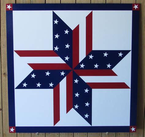 Stars & Stripes Barn Quilt 24x 24