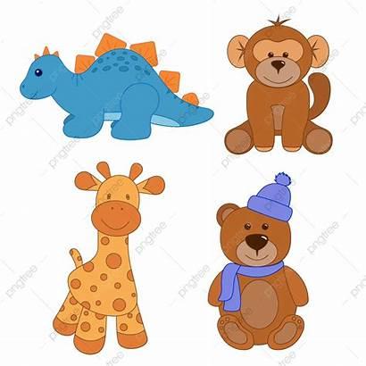 Teddy Toys Bear Giraffe Monkey Stuffed Dinosaur