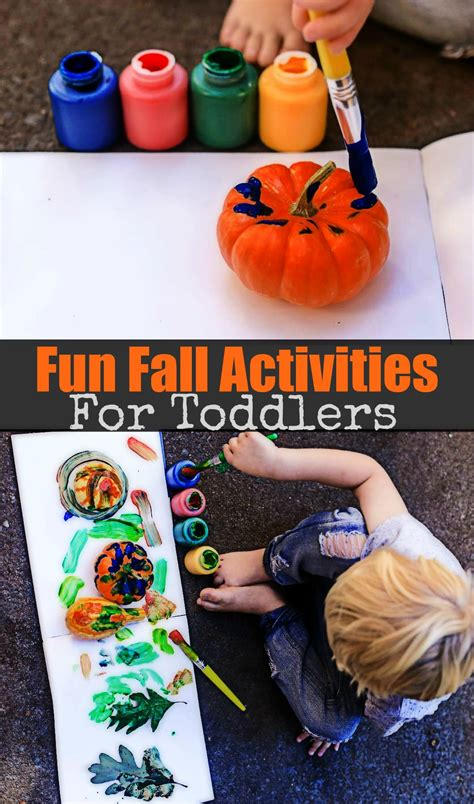 Fun Fall Activities For Toddlers  Happily Hughes