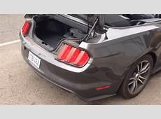 Ford Mustang Convertible 2016 ALAMO Car Rental Los