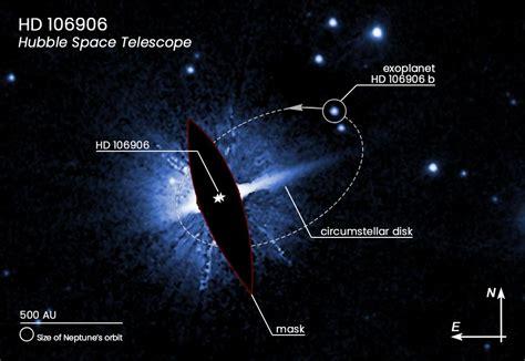 clue  planet  hubble pins  weird exoplanet   flung orbit
