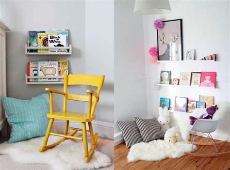 amenager un coin bebe dans la chambre des parents un coin lecture pour les joli place